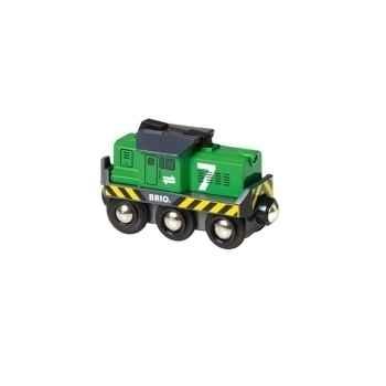 Locomotive de fret à pile - Jouet Brio 33214000