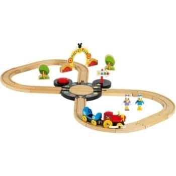 Circuit destination mickey park - Jouet Brio 32222000