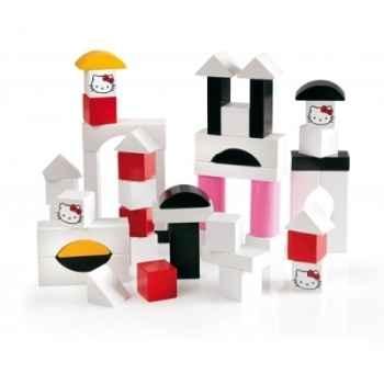 Cubes en bois hello kitty 50 pces  - Jouet Brio 32315000