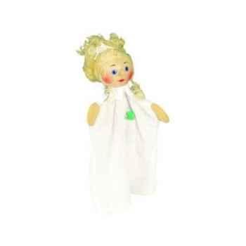Marionnette tête en bois Infirmière kersa -60365
