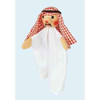 Marionnette tête en bois cheik abdula kersa -60850