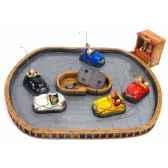 figurine circuit pour autotamponneuse bumpercars forchino fo85028