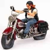 figurine the motorbike forchino fo85031
