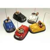 figurine auto tamponneuses bumper car set forchino fo85043
