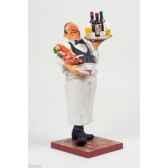 figurine the waiter le serveur forchino fo85519