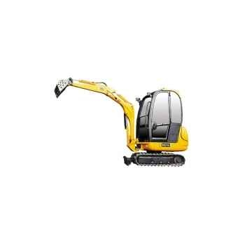 Mini-excavatrice JCB 8016 avec benne Joal 219