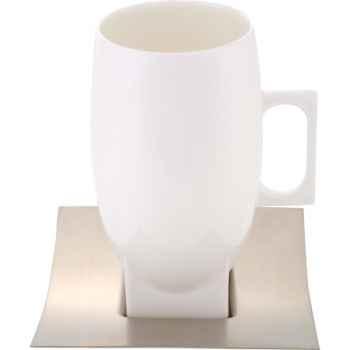 Autrement Chocolat-Mug tramontina en porcelaine.
