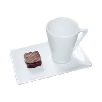 Autrement Chocolat-Tasse expresso porcelaine.