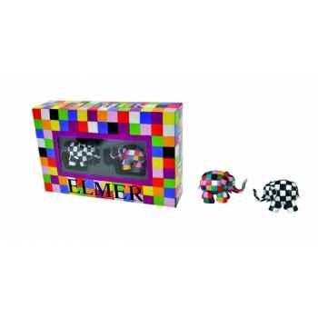 Coffrets licences coffret elmer et walter Figurine Plastoy 60838