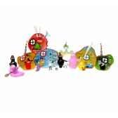 coffrets licences coffret la maison de barbapapa 2 figurine figurine plastoy 60817