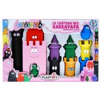 Les jouets d'eveil le chateau des barbapapa ( + 2 ) Figurine Plastoy 60821