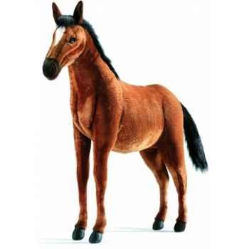 Peluche Cheval brun 105cm Anima 3656