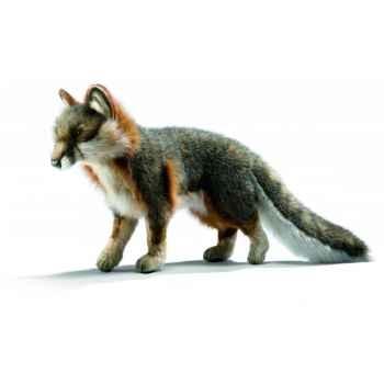 Peluche Renard gris 40cm Anima 4700