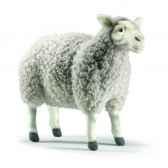 peluche mouton gris 38cm anima 4985