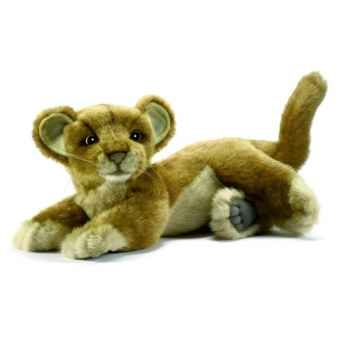 Peluche Lionne bebe couchee 26cm Anima 4994