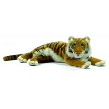 Peluche Tigre brun couche 33cm Anima 5707