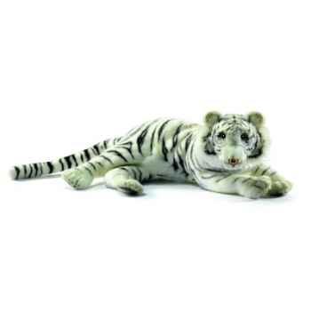 Peluche Tigre blanc couche 33cm Anima 5766