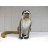 peluche anima singe green velvet 30cm anima 5187