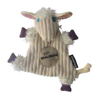 Peluche Doudou Baby Mouton poilodos Déglingos 36703