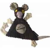 peluche doudou baby ratos deglingos 36704
