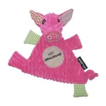 Peluche Doudou Baby Cochon jambonos Déglingos 36711