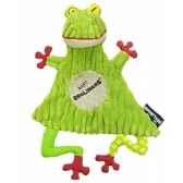 peluche doudou baby grenouille croakos deglingos 36713