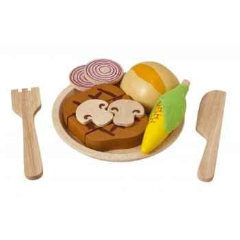 Assortiment de fruits à couper jouet en bois plantoys 3456