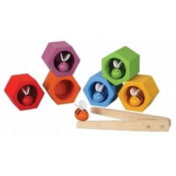 Nids d'abeilles jouet en bois plantoys 4125