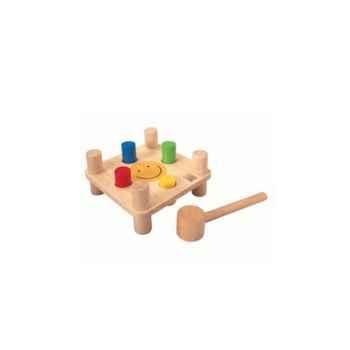 Banc à cogner jouet en bois plantoys 5126