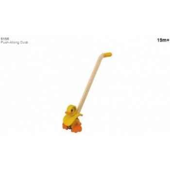 Canard canne jouet en bois plantoys 5155