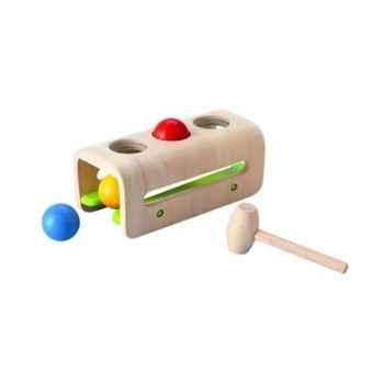 Balles et marteau jouet en bois plantoys 5348