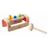 banc a marteler jouet en bois plantoys 5350