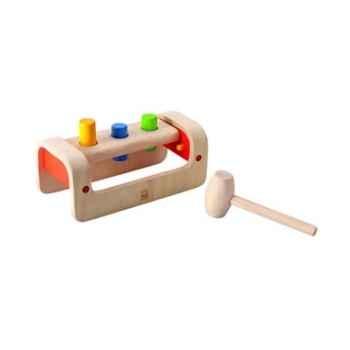 Banc à marteler jouet en bois plantoys 5350