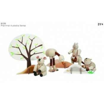 Planimal: animaux d'australie jouet en bois plantoys 6120