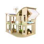 maison ecologique meublee jouet en bois plantoys 7156