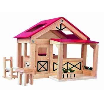 Le ranch jouet en bois plantoys 7158
