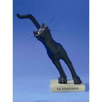 Figurine chat -le chat domestique - la flatterie (petit) - cdl4