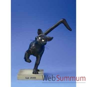 Figurine chat -le chat domestique - la joie (petit)e - cd17
