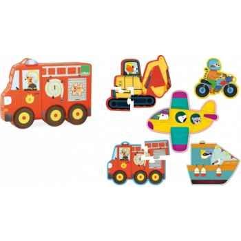 Figurine chat -le chat domestique - la ruse (petit)e - cd18