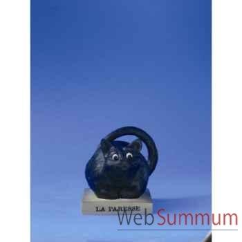 Figurine chat -le chat domestique par dubout - la paresse (petit)e - cd22