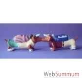 figurine hot diggity chien teckegolfers hot16489
