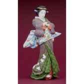 figurine samourai eisen ikeda courtisane eis01