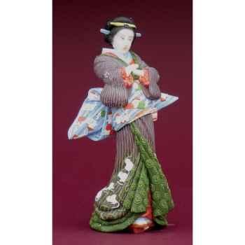 Figurine samouraï - eisen ikeda, courtisane   - eis01