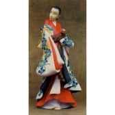 figurine samourai kaigetsudo ando courtisane kai01