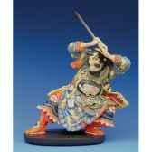 figurine samourai kuniyoshi suikoden gyokukirin ku01