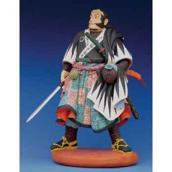 Figurine samouraï - kuniyoshi samurai: chibamitsutada  - ku03