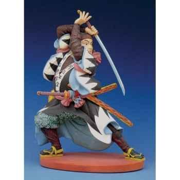 Figurine samouraï - kuniyoshi samurai : sampei  - ku04