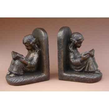 Figurine émotion - emotion boekenst lez meisje per2st  - 1523.20