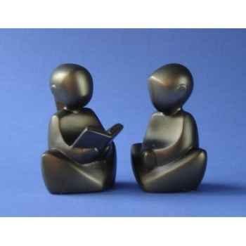 Figurine émotion - em luis ter set meisje lezend  - em008