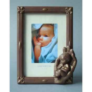 Figurine émotion - emo photoframe emotion bronze  - em021